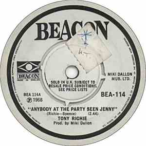 Tony Richie - Anybody At The Party Seen Jenny download free